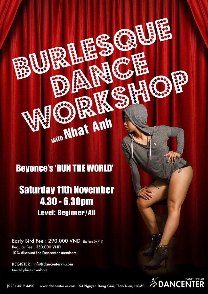 Burlesque Dance Workshop - DANCENTER